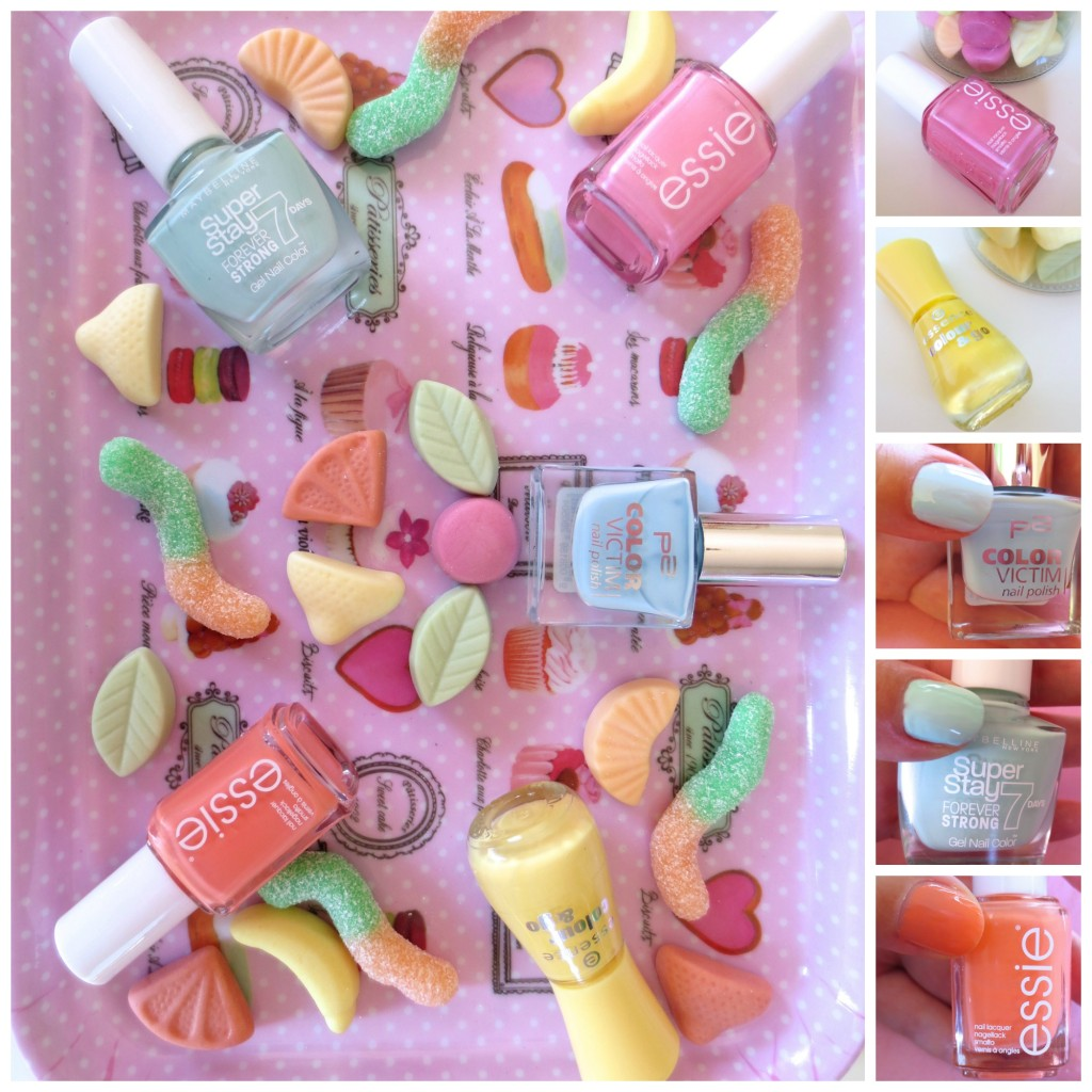 Candy Colours Collage