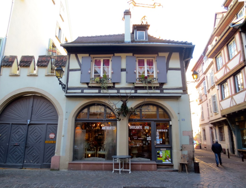 Pretty shop front in Colmar