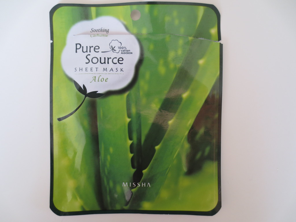 Missha Real Source Aloe Mask