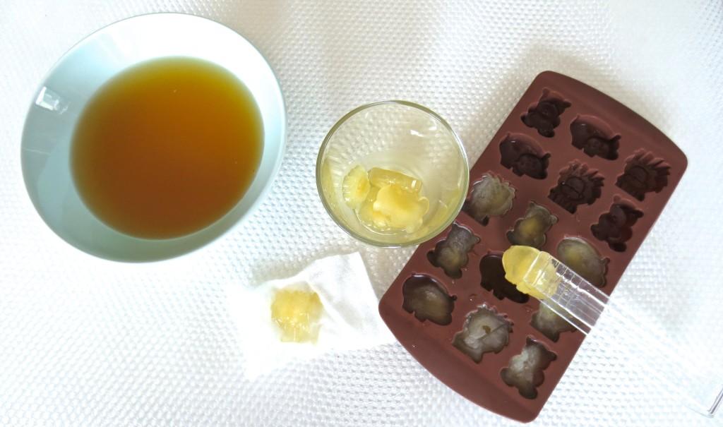 grüner Tee Eiswürfel Zutaten