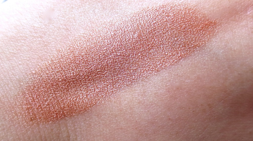 Happy Karma Blush Stick Goldish Swatch