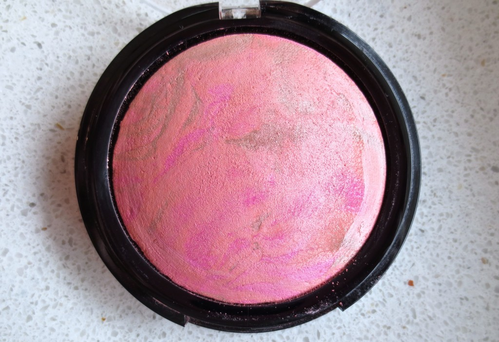 Alverde Dizzy Peach Blush Pan