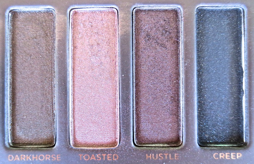 Urban Decay Naked Palette Toasted and Hustle
