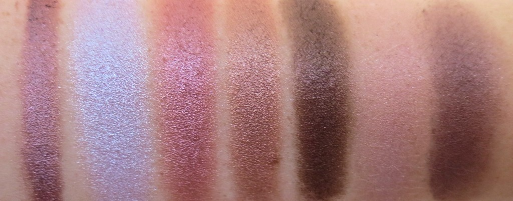 7 Shades of Purple Blog Parade Swatches