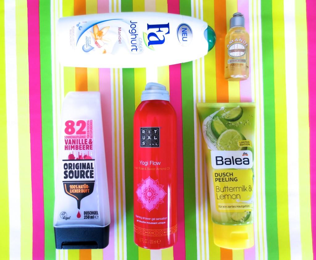 Shower Confidential: Meine 5 Lieblingsprodukte für die Dusche