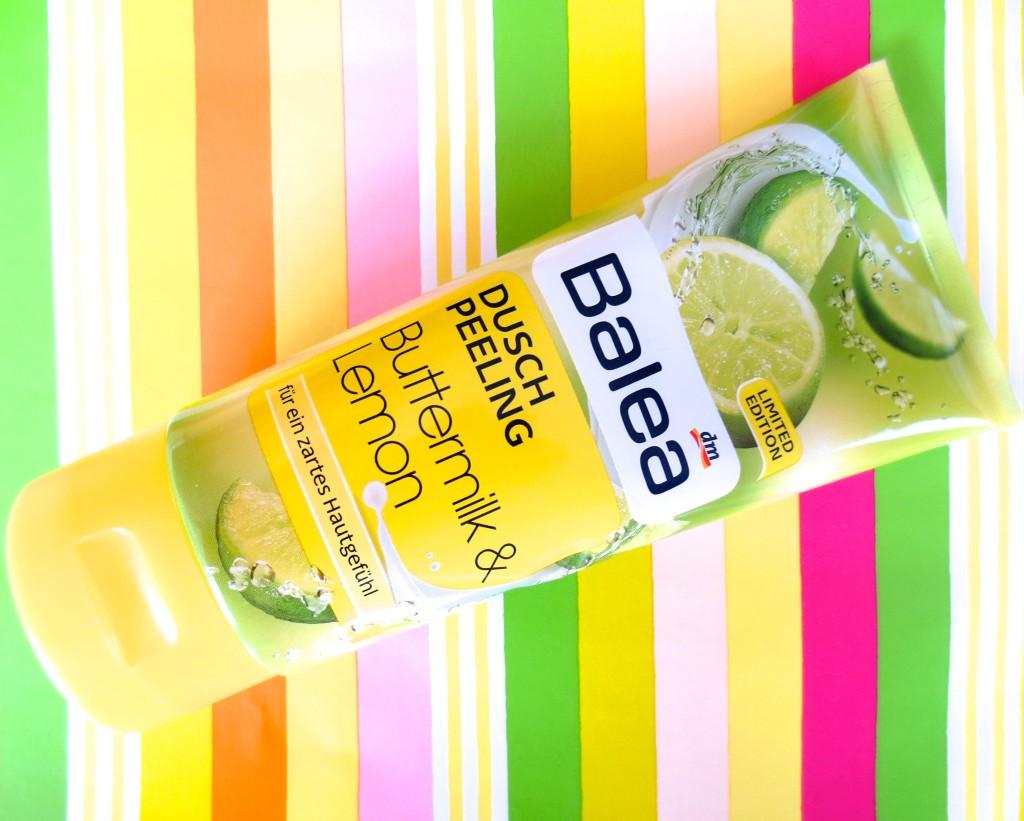 Balea Buttermilk & Lemon Dusch Peeling