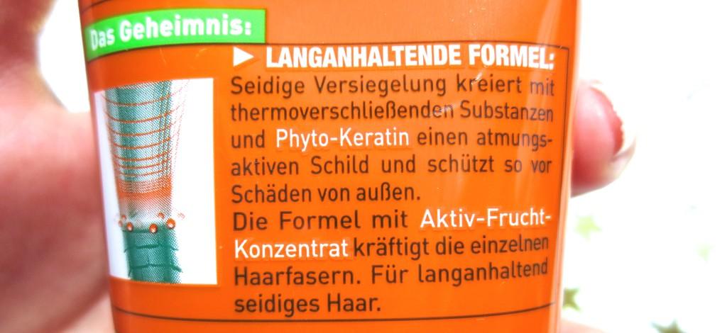 Garnier Fructis Schaden Löscher Seidige Versiegelung Creme Kur
