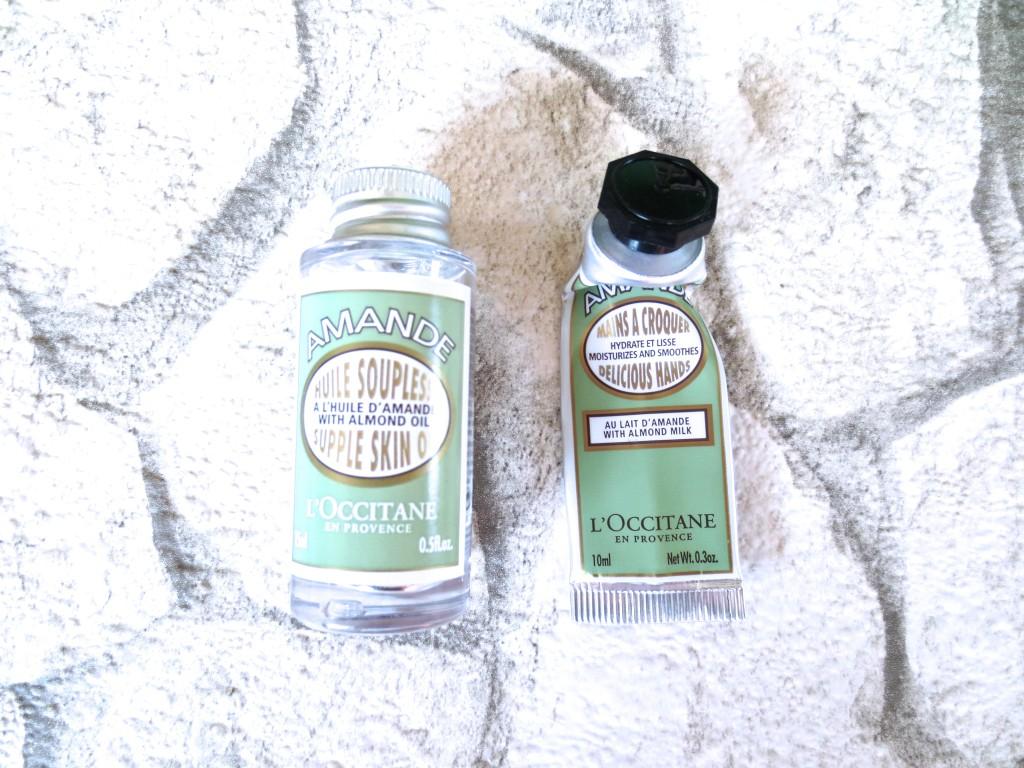 L'Occitane Mandel Körperöl und Handcreme