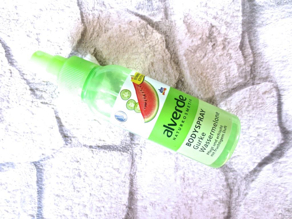 Alverde Bodyspray Gurke Wassermelone
