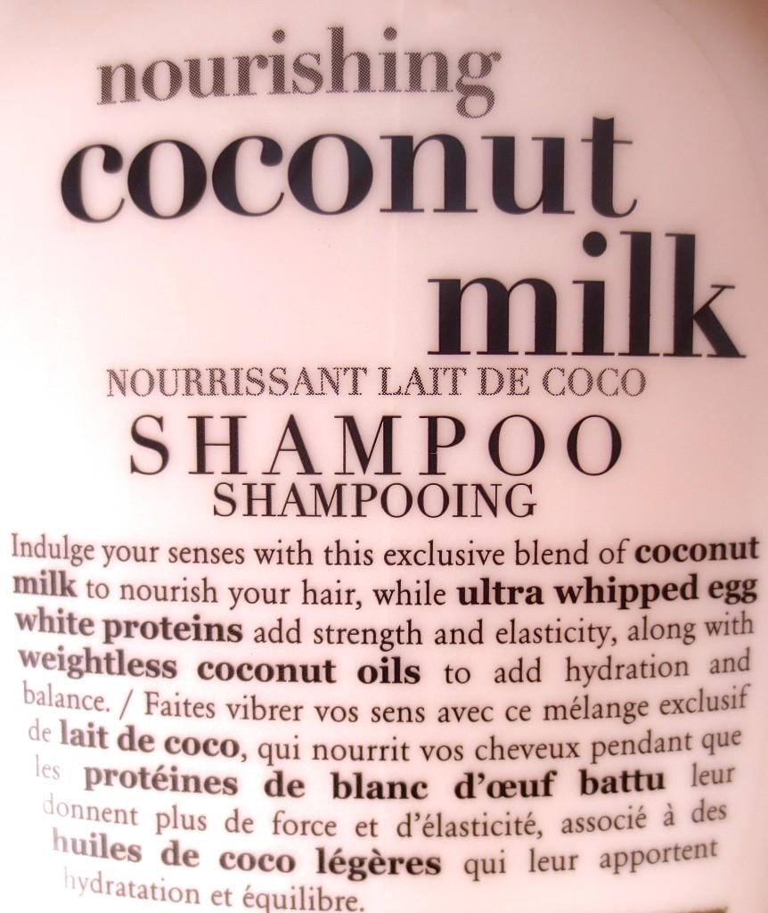 OGX Coconut Milk Shampoo