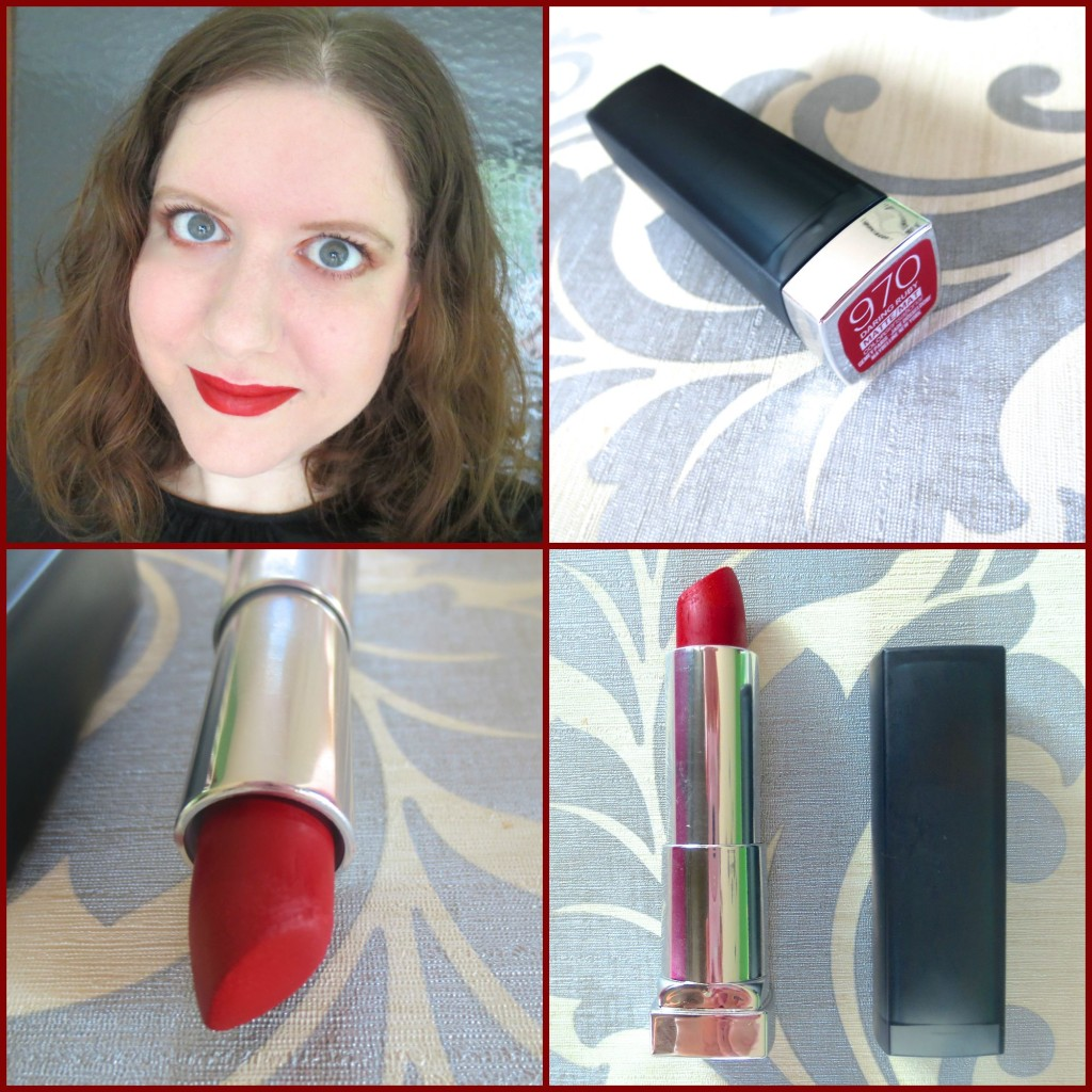 Mad for Matte Lips: Maybelline Color Sensational Creamy Matt Lippenstift in Daring Ruby