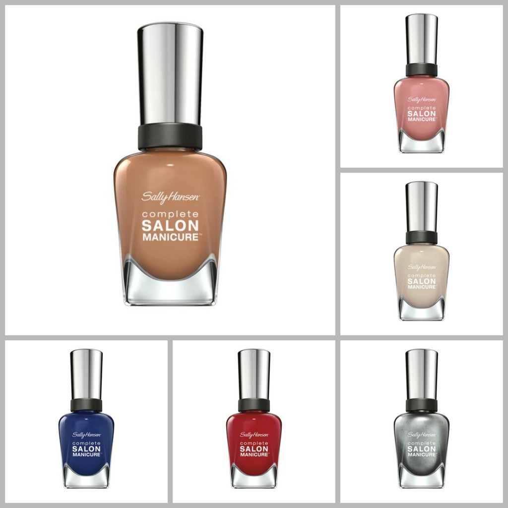 Sally Hansen Red Carpet 3 Collage