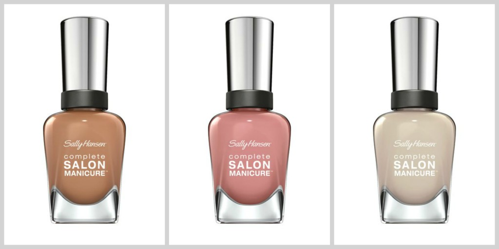 Sally Hansen Red Carpet Collage