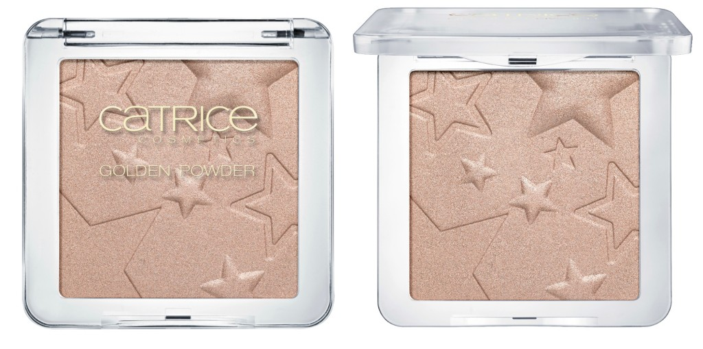 Catrice Treasure Trophe Golden Powder Collage