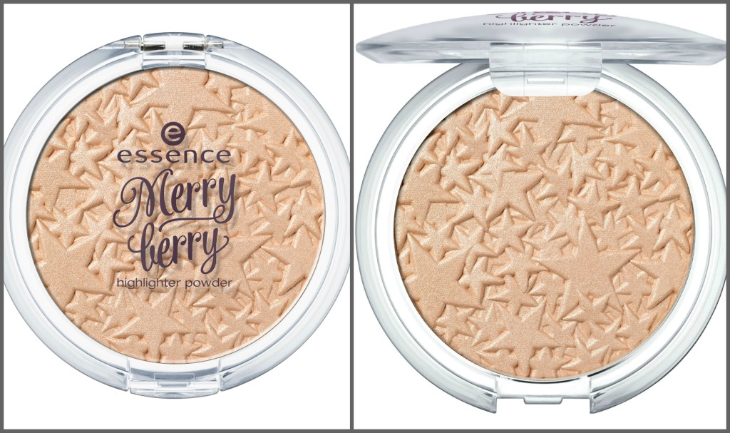 Essence Merry Berry Highlighter Collage