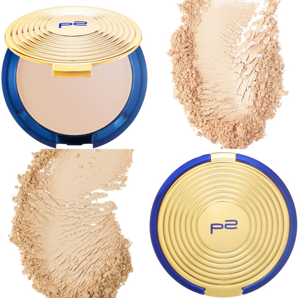 P2 Fabulous Beauty Gala Compact Powder Collage