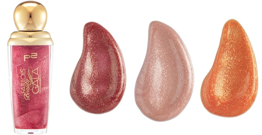 P2 Fabulous Beauty Gala Lipgloss Collage