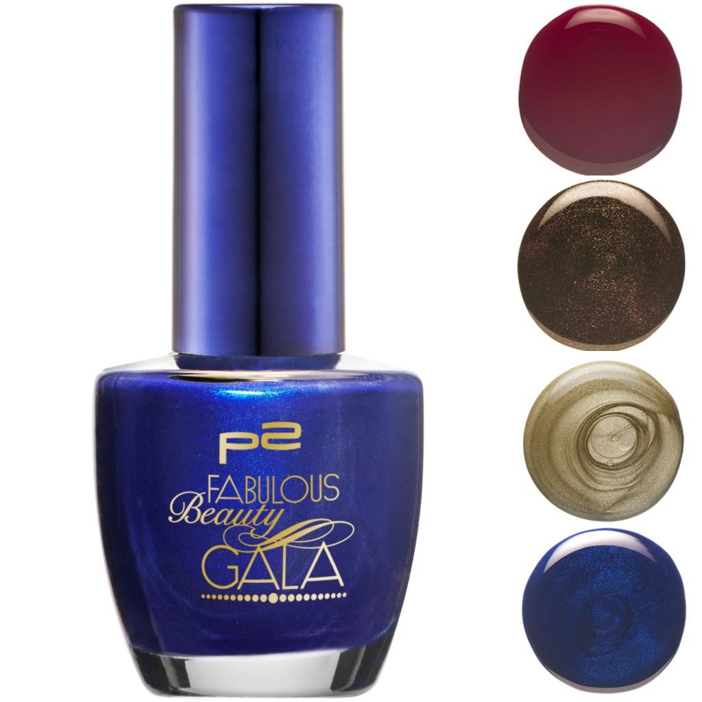 P2 Fabulous Beauty Gala Nagellack Collage