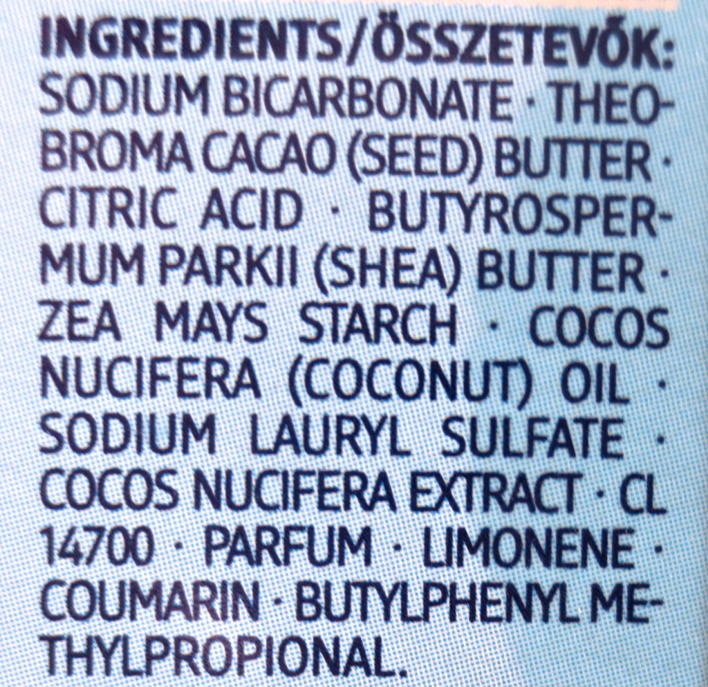 Balea Manufaktur Badestick mit exotischem Kokos-Duft Inhaltsstoffe