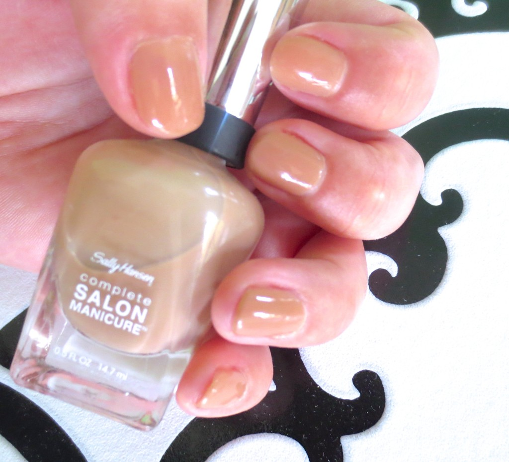 Sally Hansen Designer Collection 2015 Herbst Fall Beige Glass
