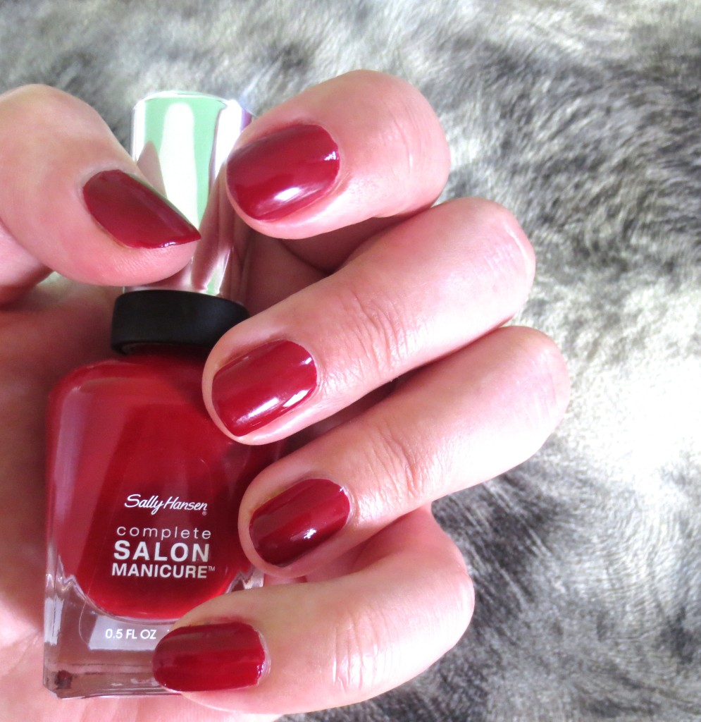 Sally Hansen Designer Collection 2015 Herbst Fall Massai Red