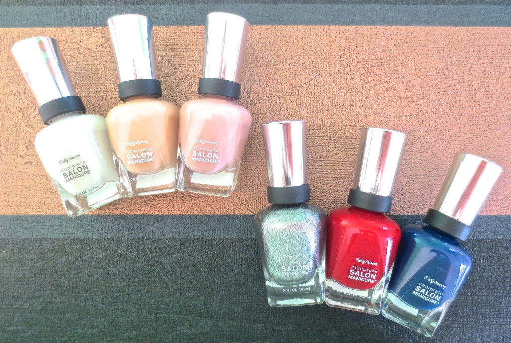 Sally Hansen Designer Collection 2015 Herbst Fall