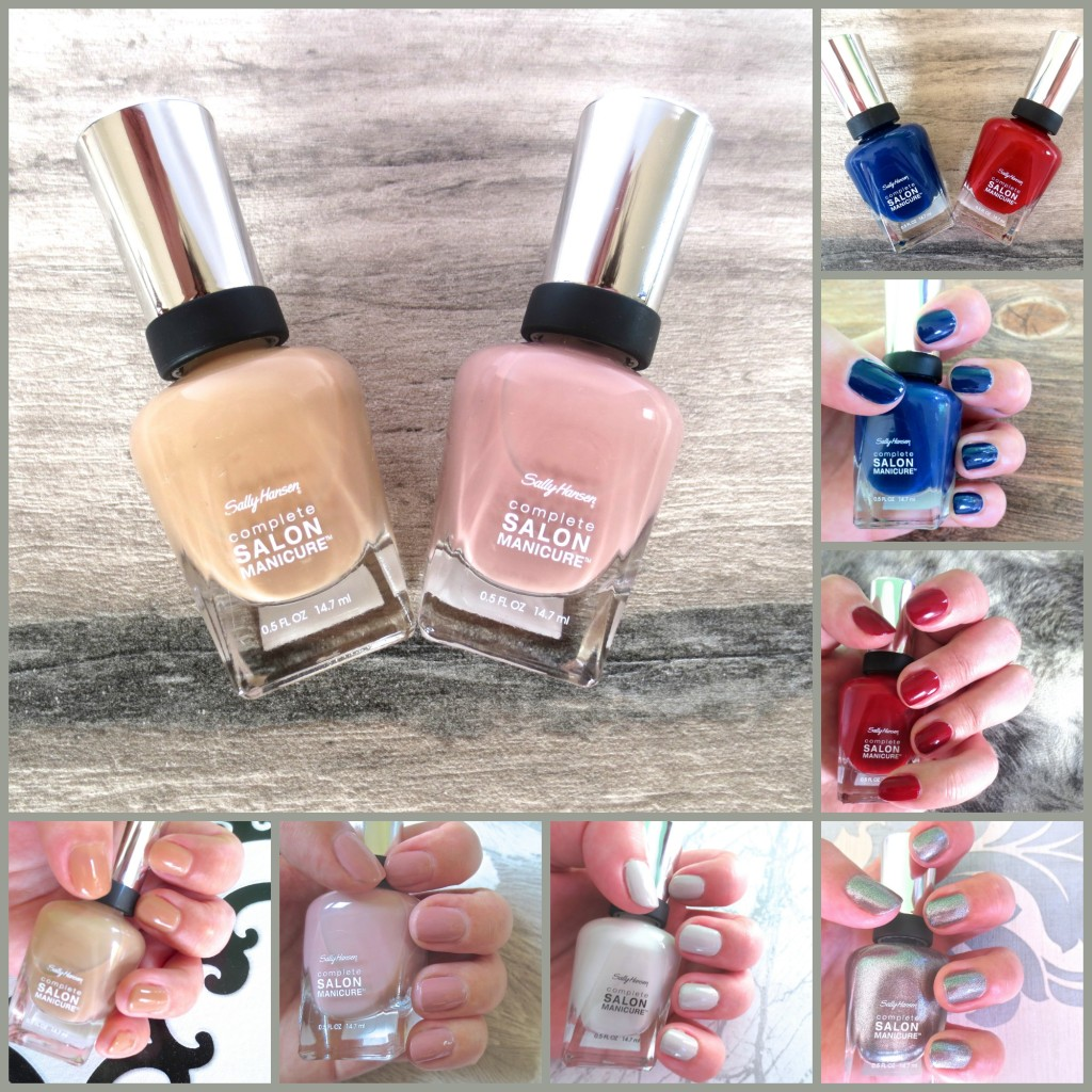 Sally Hansen Designer Collection Review Collage