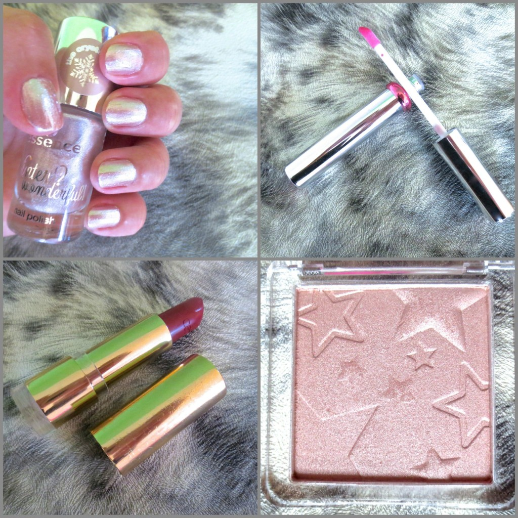 Catrice Treasure Trove Essence Winter Wonderful Haul Collage
