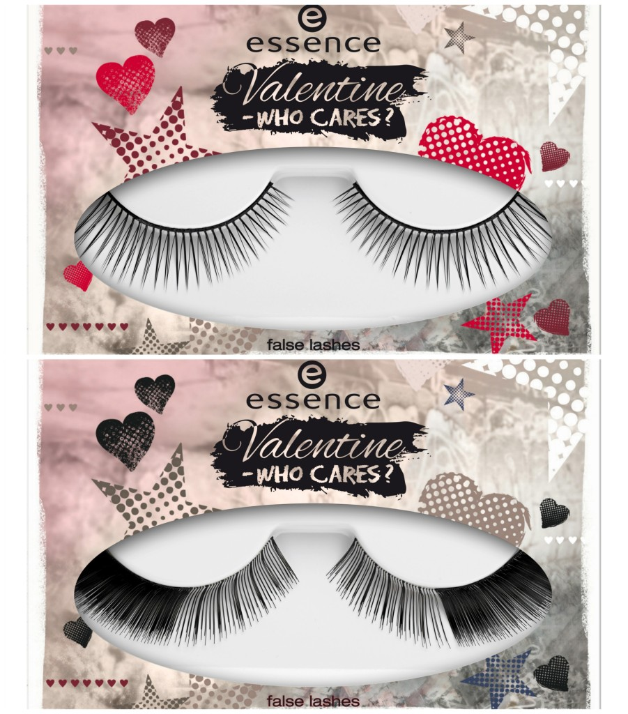 Essence Valentine Who Cares False Lashes Collage