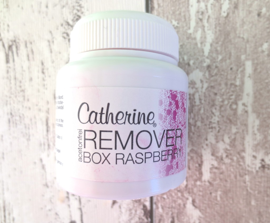 Catherine Nail Remover Box Raspberry