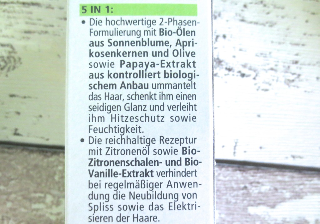 Alverde Hitzeschutz Spray 5 in 1