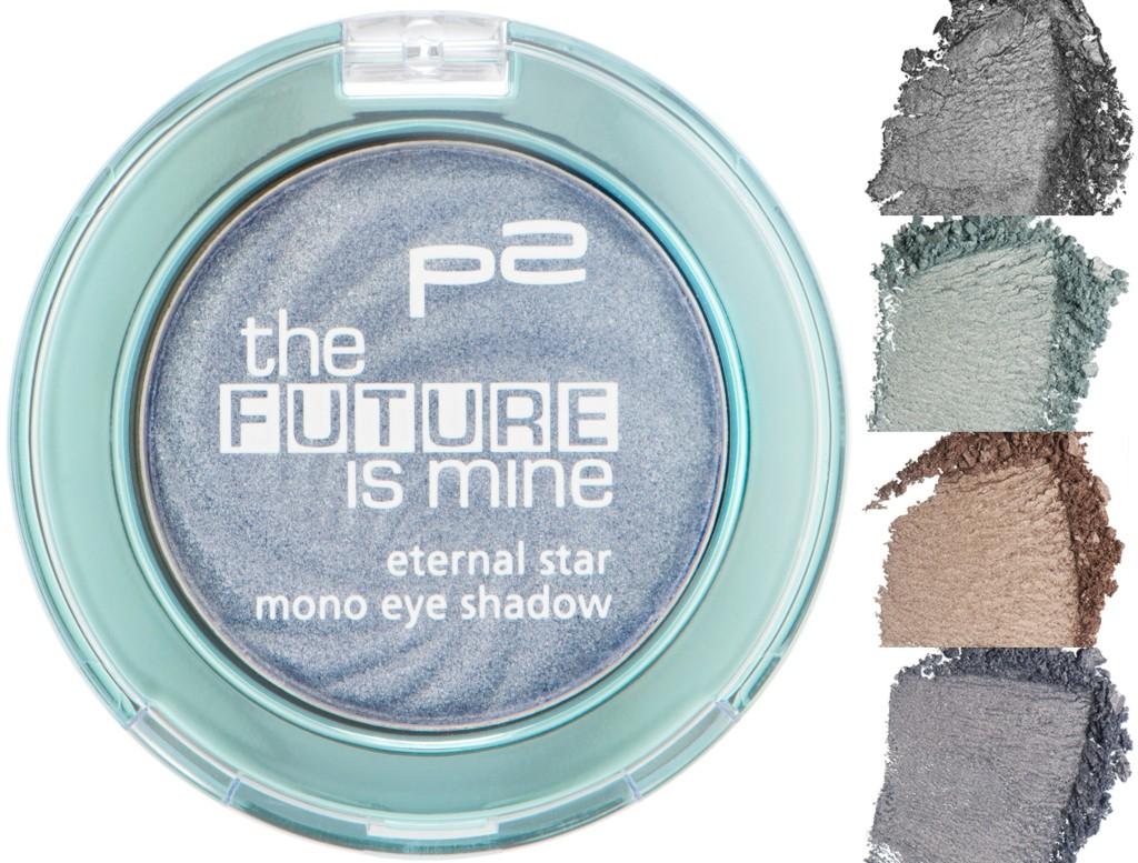 P2 Eternal Star Mono Eye Shadow Collage