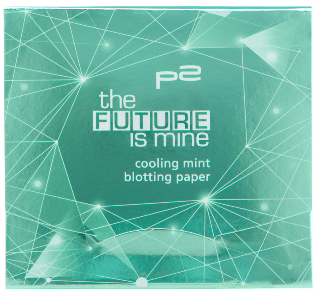 cooling mint blotting paper