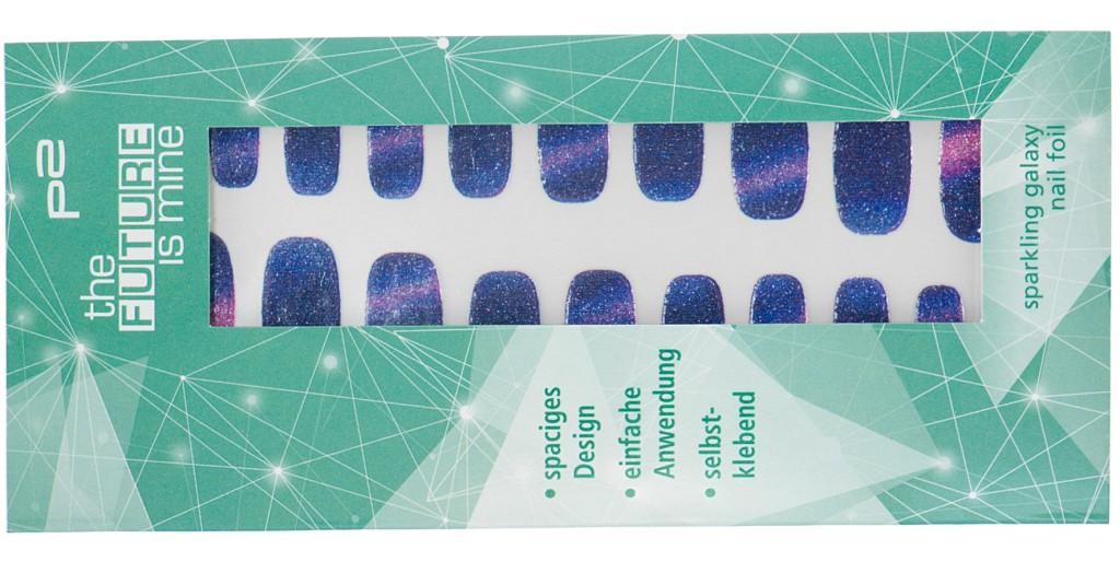 sparkling galaxy nail foil