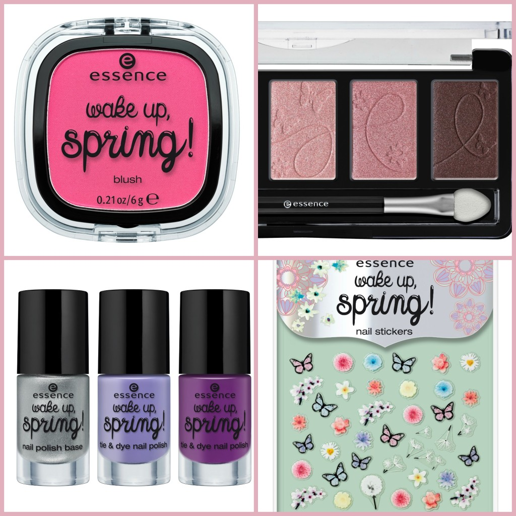 Essence wake up spring Trend Edition Collage