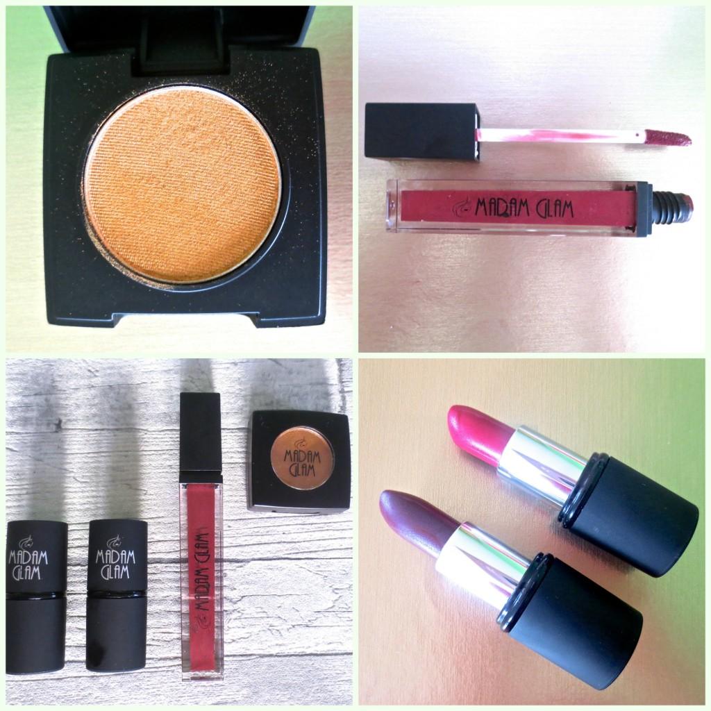 Madam Glam Makeup Collage