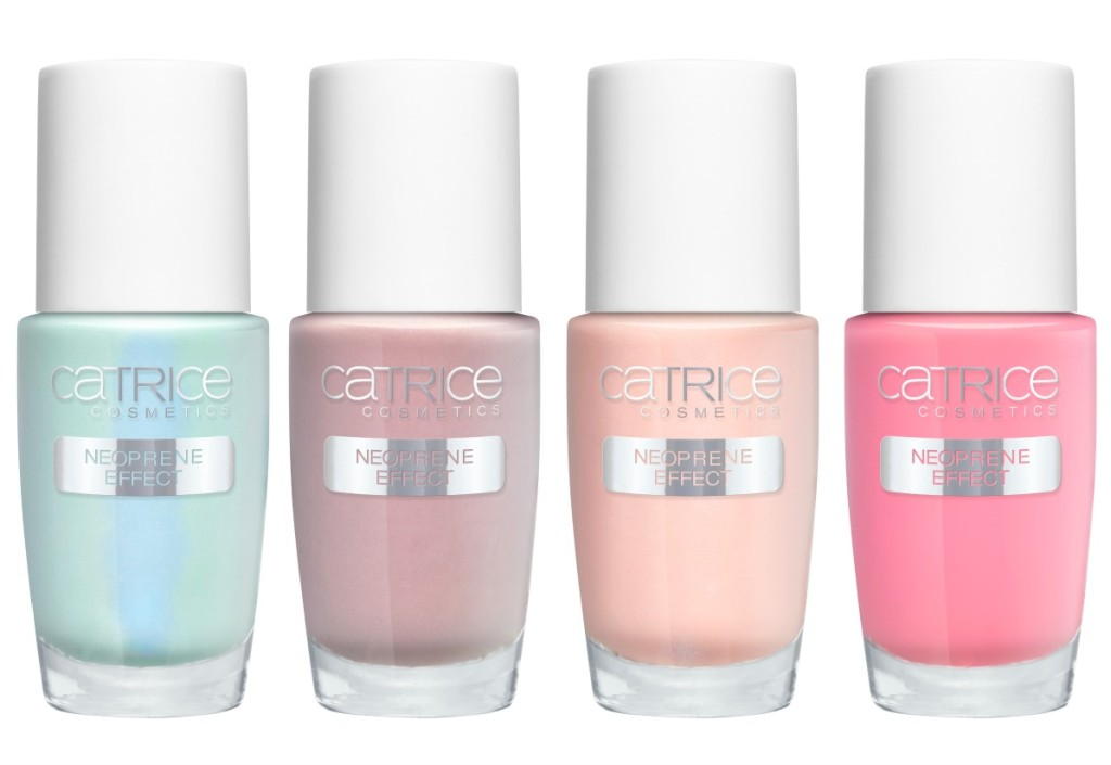 Catrice Soft Boldness Satin Matt Nail Lacquer Collage