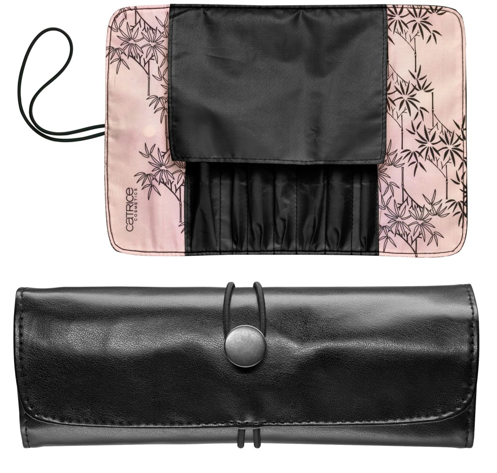Catrice Zensibility Pinseltasche Brush Bag Collage