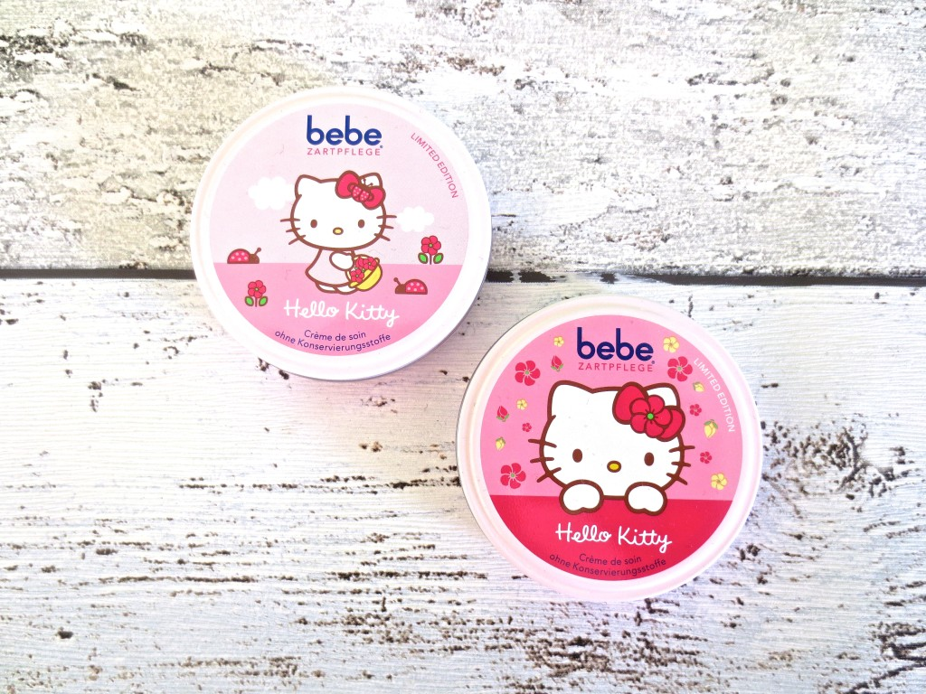 Beauty Favoriten Januar 2016 Bebe Zartcreme Hello Kitty Limited Edition