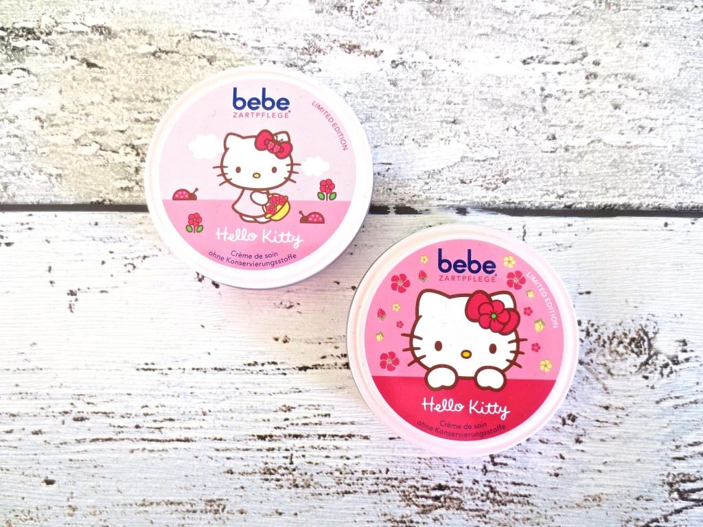 Beauty Favoriten Januar 2016 Bebe Zartcreme Hello Kitty Limited Edition