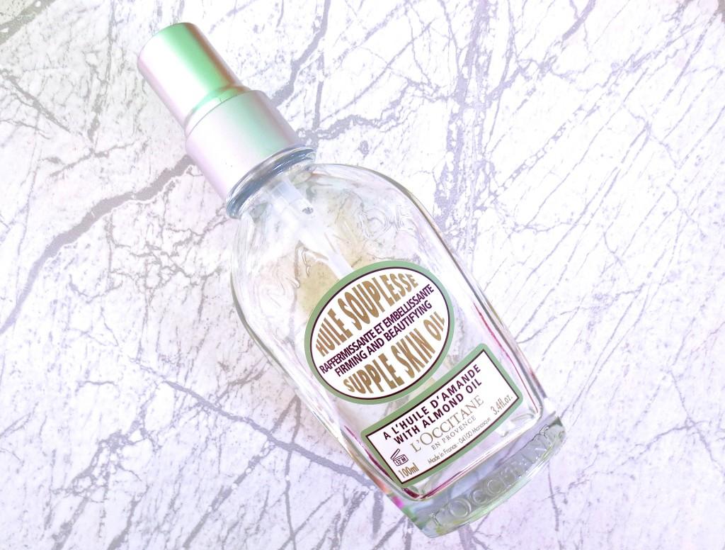 L'Occitane Mandel straffendes Körperöl liebste Trockenöle