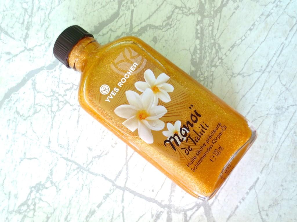 Yves Rocher Monoi de Tahiti schimmerndes Körperöl Trockenöle
