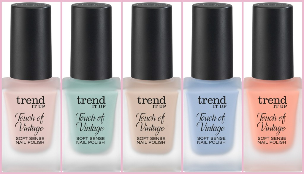 Trend it up touch of Vintage Soft Sense Nail Polish Collage