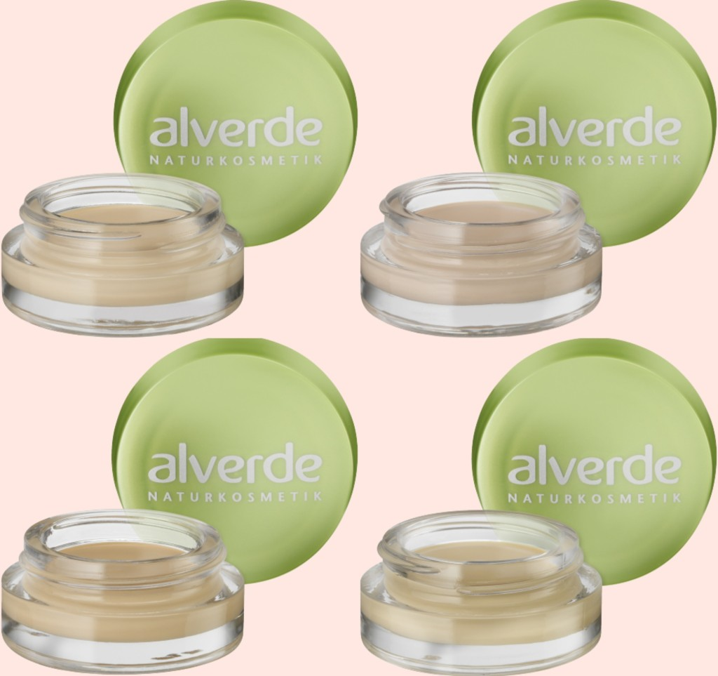 alverde Mousse Make-up Collage