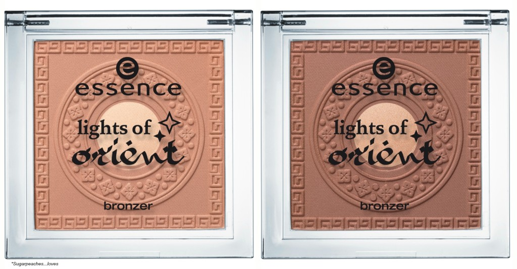 Essence Lights of Orient Bronzer Collage