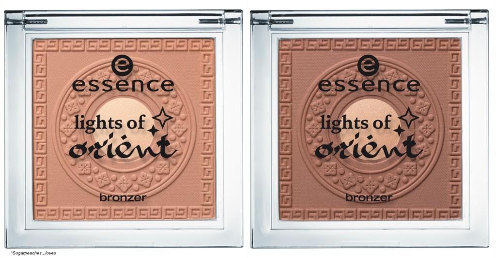 Essence Lights of Orient Bronzer Collage