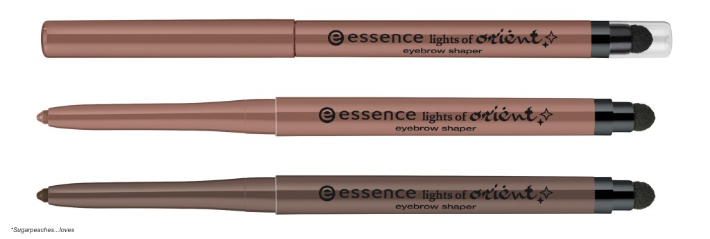 Essence Lights of Orient Eyebrow Shaper Collage