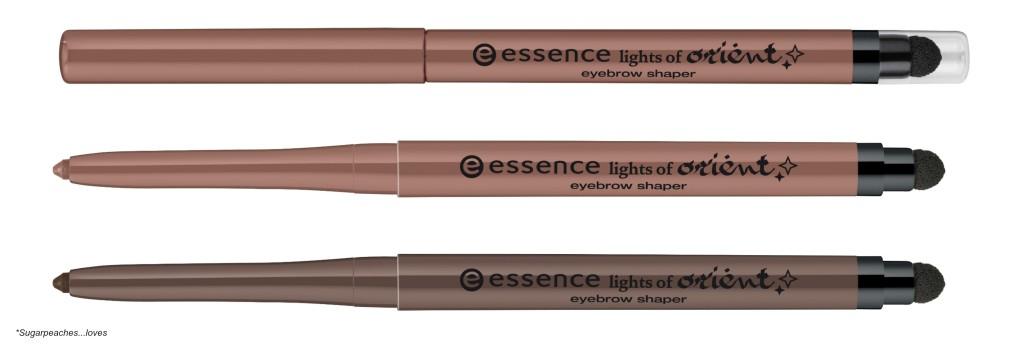 Essence Lights of Orient Eyebrow Shaper Collage