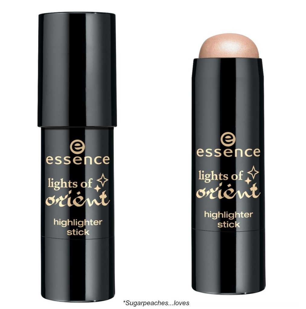 Essence Lights of Orient Highlighter Stick Collage