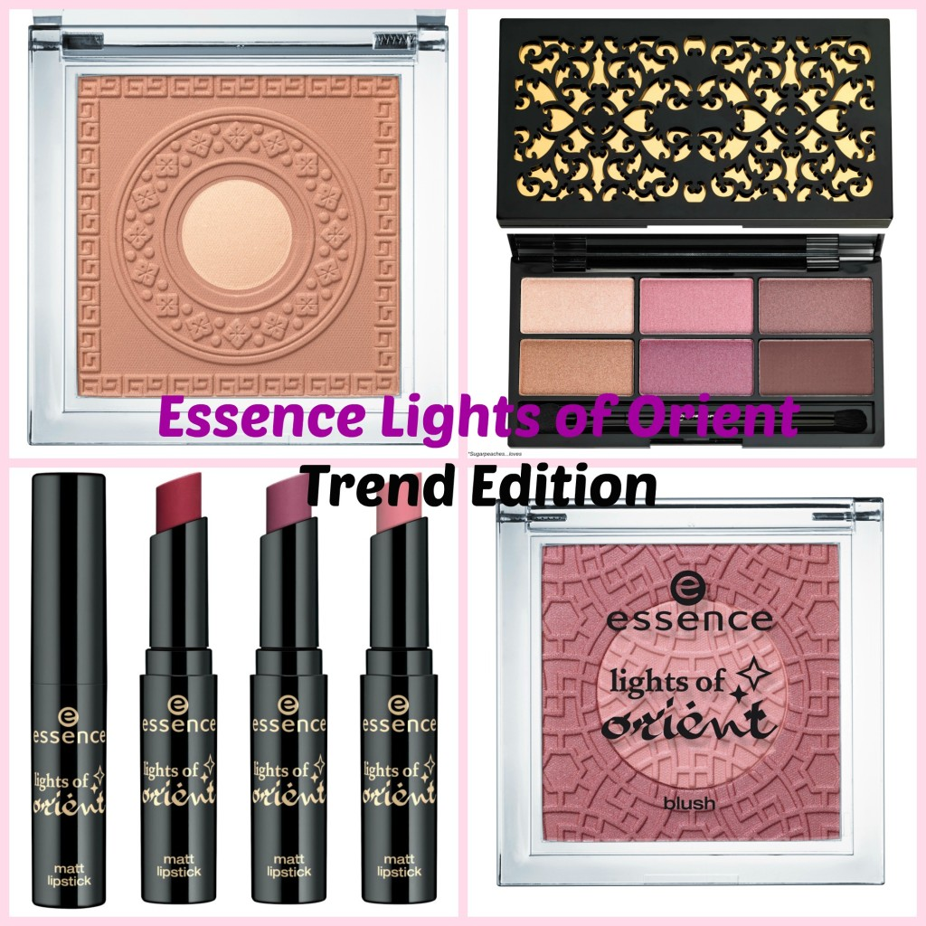 Essence Lights of Orient Trend Edition Preview Collage